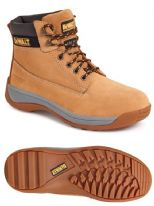 DeWalt Apprectice Honey Safety Boots - Size 7